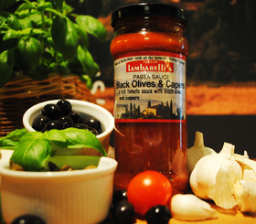 Olives and Capers Pasta Sauce