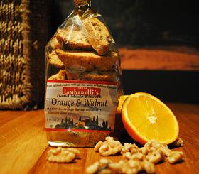 Orange and Walnut Biscotti